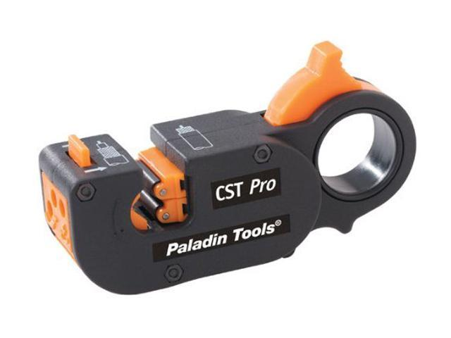 Paladin Tools 1283 CST Pro Coax Stripper 2-Level (Blue Cassette: .250)