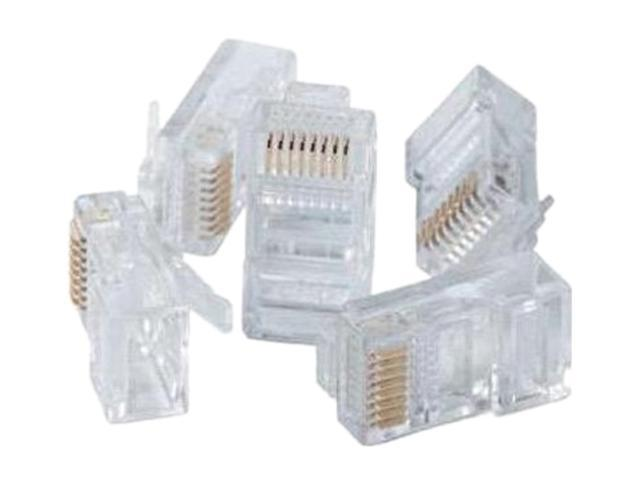 Paladin Tools 9549 RJ45 WE/SS 8P8C Modular Plugs(Cat5e, Cat5) - 100 pack