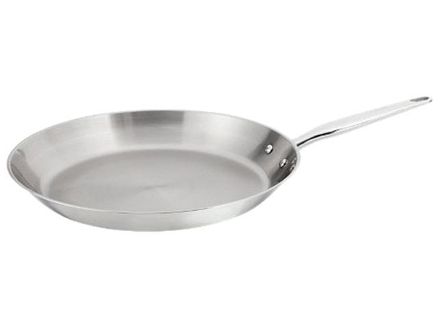 T-FAL C7980764 12 in. Ultimate Stainless Steel Fry Pan