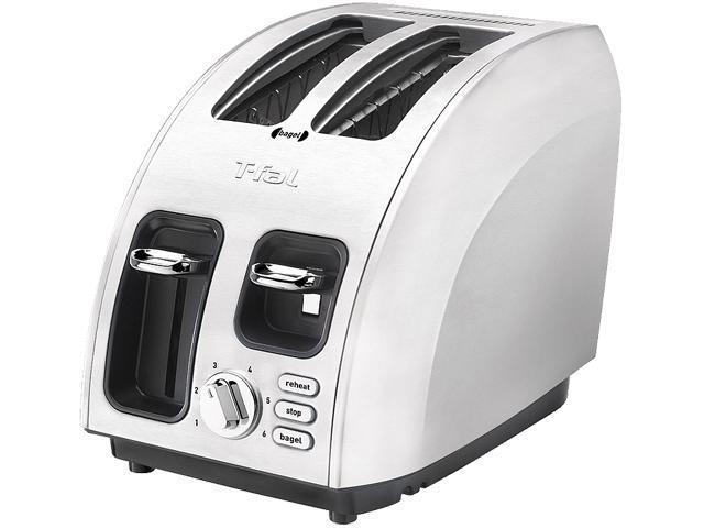 T-Fal TT5600004 Silver Avante Icon 2 Slice Toaster