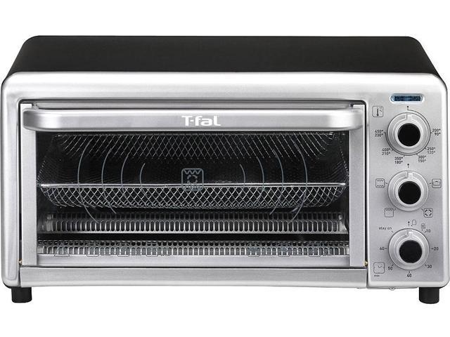 T-Fal OF170850 Black And Shiny Silver 6-Slice Convection