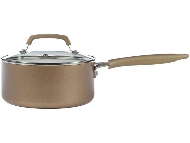 T-FAL C9442464 Pure Living 3Qt Sauce-Pan Champ