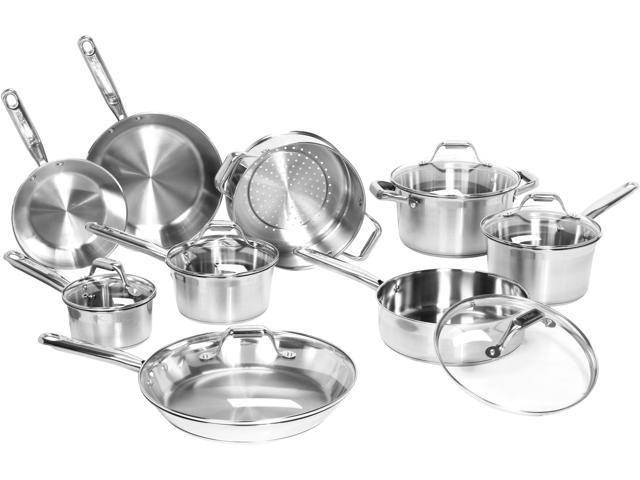 T-fal Elegance Stainless Steel 15-Piece Set