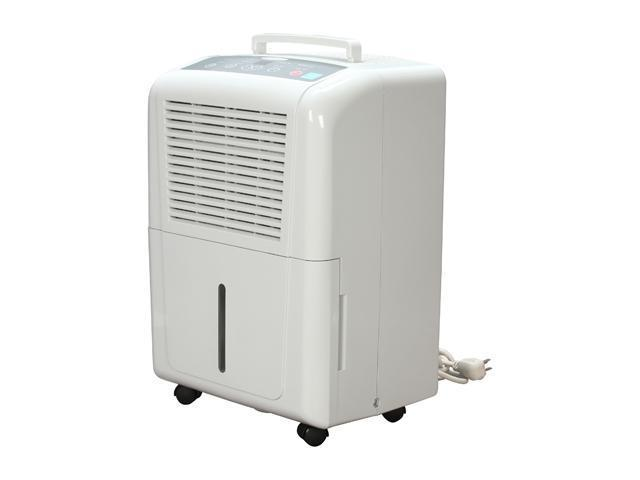 Soleus Air DP1-30-03 Portable Dehumidifier With Humidistat White