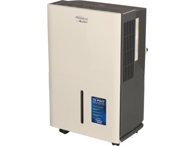 Soleus Air DP2-70E-03 70 Pint Energy Star Dehumidifier White