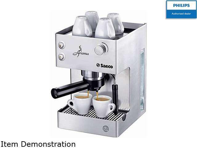 Saeco RI9376/04 Aroma Manual Espresso Machine, Stainless Steel