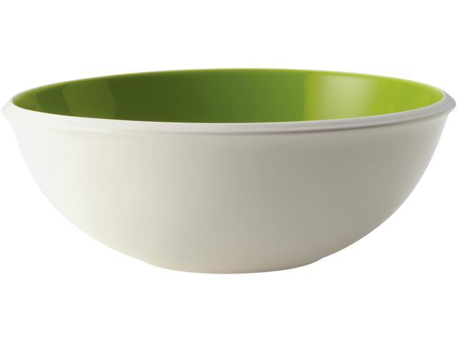 Rachael Ray  58762  Serveware Rise 10-Inch Stoneware Serving Bowl, Green