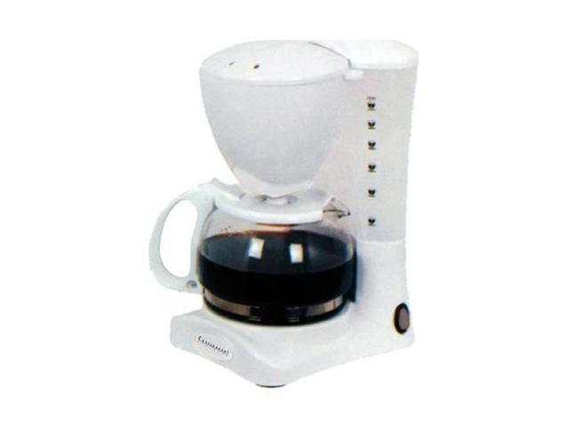Continental Electric Coffee Maker How To Use : Continental Electric CE23581 White 4-Cup Coffee Maker - Newegg.com