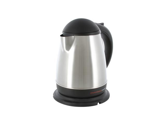 Chefs Choice 677 Stainless Steel International Cordless 1.75 Quart Electric Kettle
