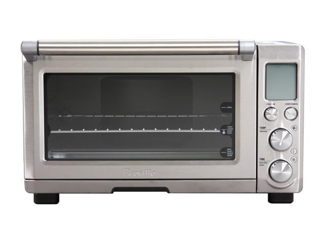 Breville BOV800XL Silver The Smart Oven 1800-Watt Convection Toaster Oven with Element IQ