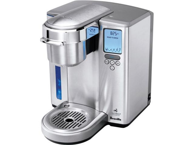 Breville BKC700XL Chrome Gourmet Single-Serve Coffeemaker with Iced-Beverage Function