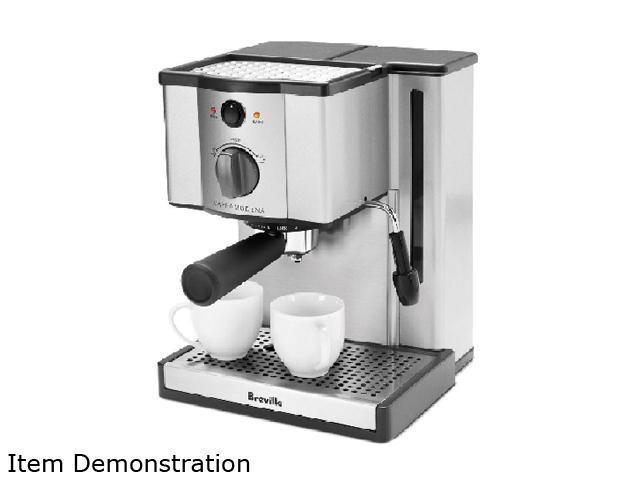 Refurbished: Breville XXESP6SXL Cafe Modena Espresso Machine - Newegg.ca