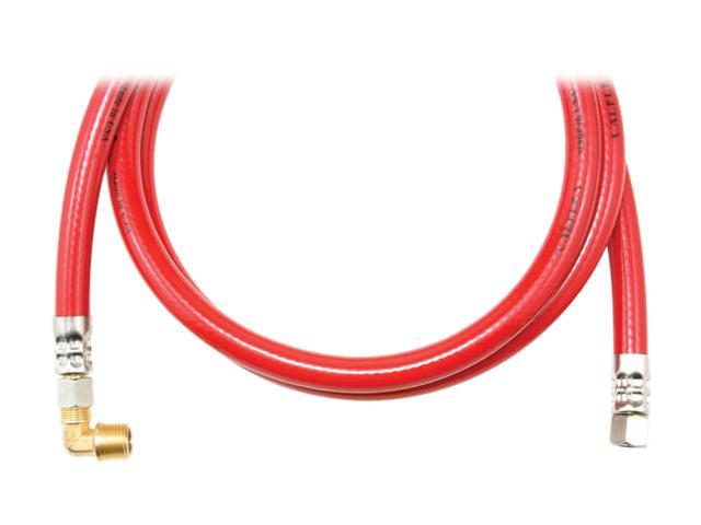 Petra TRK460B CALFLEX Red Inner Braided PVC Dishwasher Hose (60