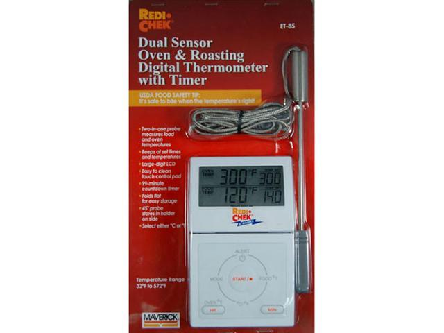 Maverick ET-85 Dual Sensor Oven & Roasting Digital Thermometer With Timer