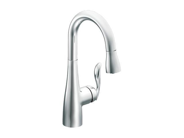 MOEN 5995 One-handle high arc pulldown single mount bar faucet Chrome