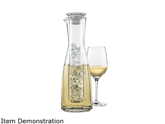 Wine Enthusiast 762 55 2 Piece Wine Chilling Carafe