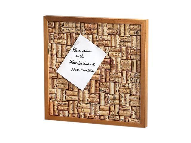Wine Enthusiast 340 12 01 Wine Cork Board Kit