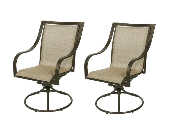 Rosewill Home HC-12-487-03 Savannah 2 Swivel Rocker Chairs