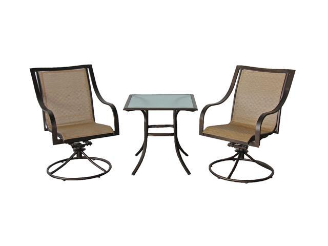 Rosewill Home HC-12-487-03SET Savannah 3 Piece Café Set