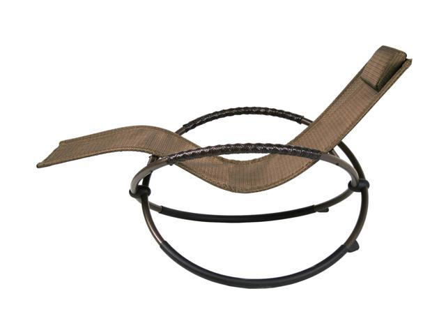 Sinochem Ningbo NE-76015BRNZ Bronze Orbital Lounge Chair