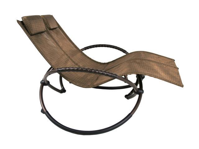 Sinochem Ningbo NE-DBLCHAIRBRNZ Bronze Double Lounge Chair