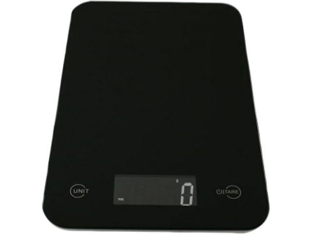 American Weigh Scales ONYX-5KGBLK Digital Kitchen Scale