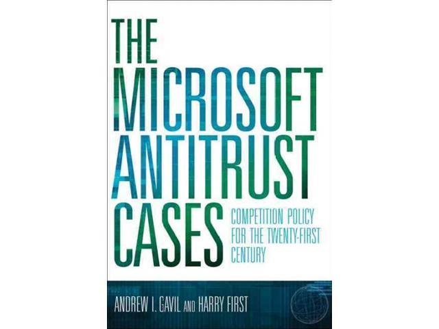 the microsoft antitrust case essay The department of justice and nineteen u states filed an antitrust case against microsoft on may 18, 1998 the department of justice charged microsoft with two.
