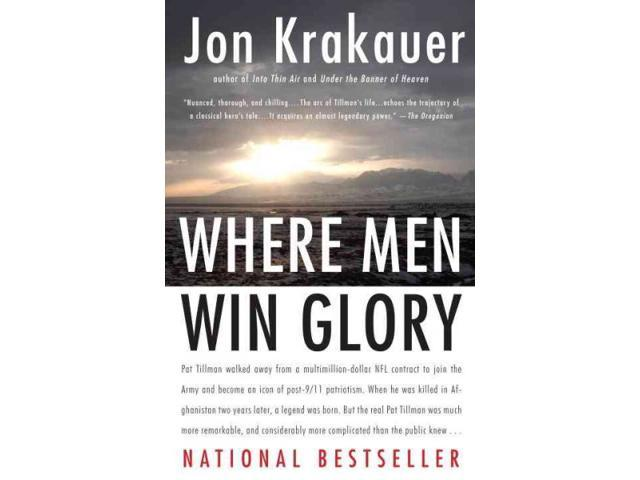 Where Men Win Glory REV REP Krakauer, Jon