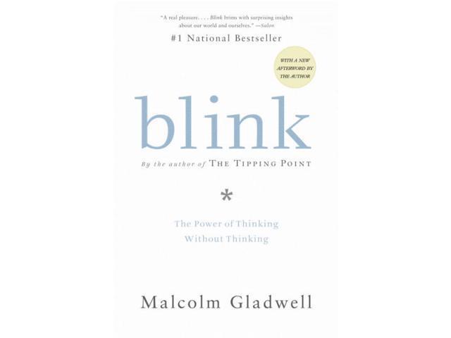 Blink 1 Gladwell, Malcolm