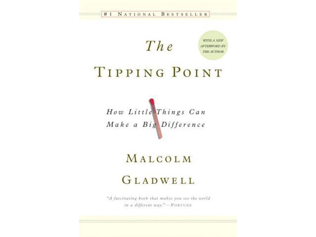 The Tipping Point Reprint Gladwell, Malcolm
