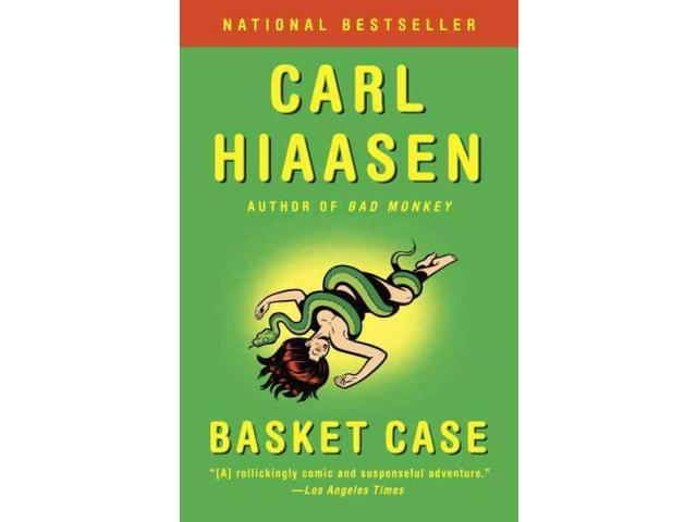 Basket Case Vintage Crime/Black Lizard Reprint Hiaasen, Carl