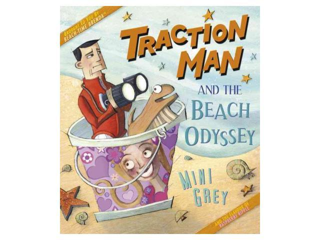 Traction Man and the Beach Odyssey Grey, Mini