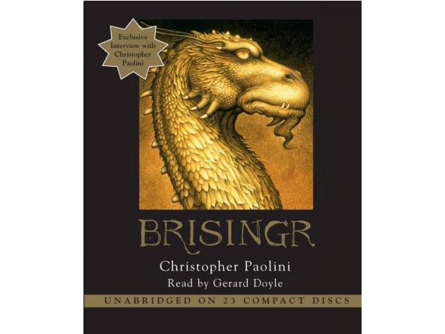 Brisingr The Inheritance Cycle Unabridged Paolini, Christopher/ Doyle, Gerard (Narrator)