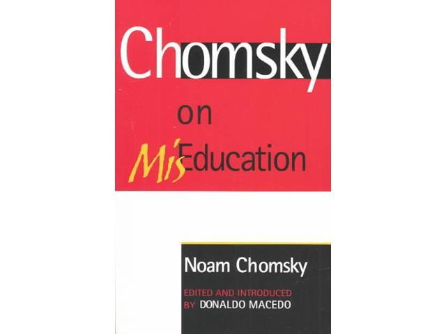On noam chomsky critical essays