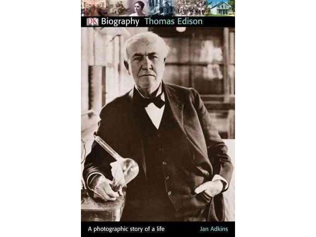 analysis of biograpy of thomas edison Detailed edison biography edison and miller family biographies photo:  thomas a  thomas alva edison was the most prolific inventor in american  history.