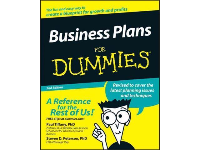 Business plans for dummies for dummies 2 for Reading blueprints for dummies