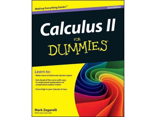 calculus 2 for dummies pdf