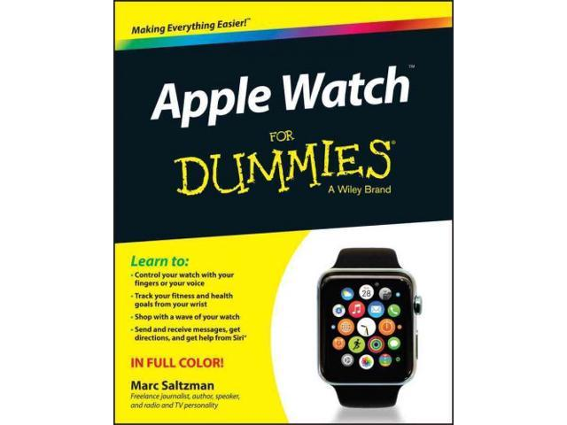 Apple Watch for Dummies For Dummies - Newegg.com