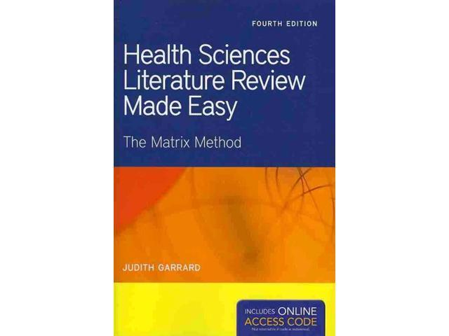 scientific literature review
