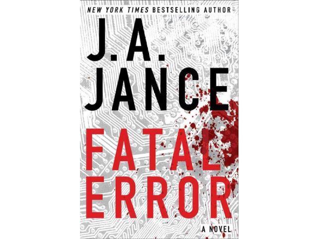Fatal Error Alison Reynolds Jance, Judith A.