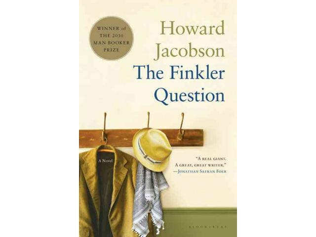 The Finkler Question Man Booker Prize Jacobson, Howard