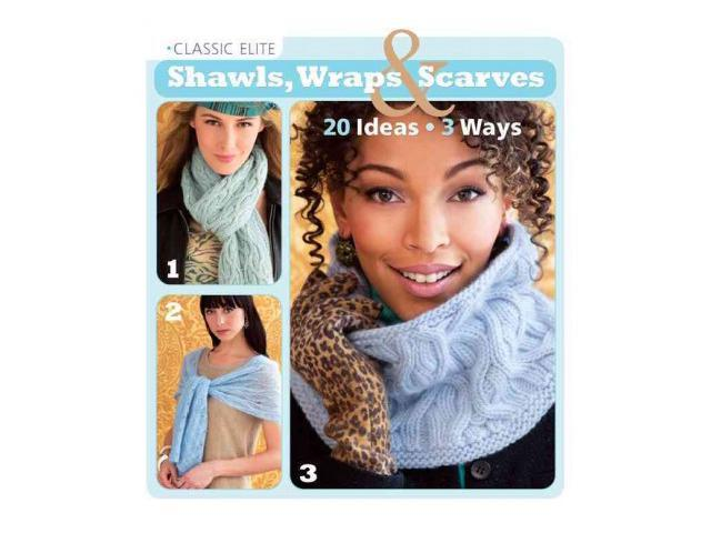 Classic Elite Shawls, Wraps & Scarves Classic Elite Yarns (Corporate Author)