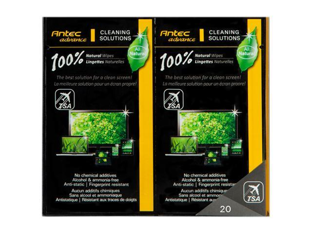 Antec 100% Natural Wipes (20pk)