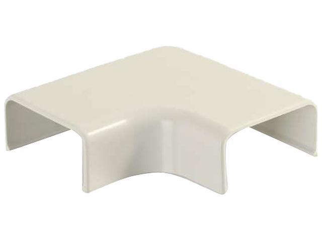 C2G Wiremold Uniduct 29 9 Flat Elbow - Ivory