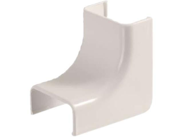 C2G Wiremold Uniduct 28 Internal Elbow - Fog White