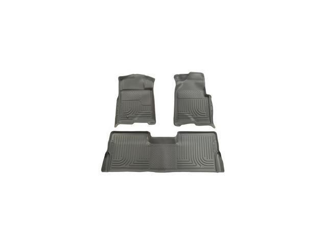 Husky Liners Weatherbeater Series Front & 2Nd Seat Floor Liners 98332 2009-2014  Ford F-150