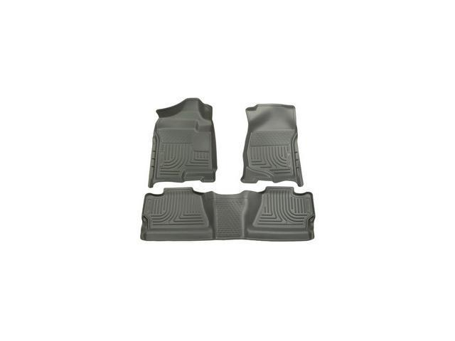 Husky Liners Weatherbeater Series Front & 2Nd Seat Floor Liners 98202 2007-2013  Chevrolet Silverado 1500