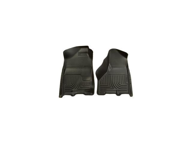 Husky Liners Weatherbeater Series Front & 2Nd Seat Floor Liners 99712 2012-2015  Ford F-250 Super Duty
