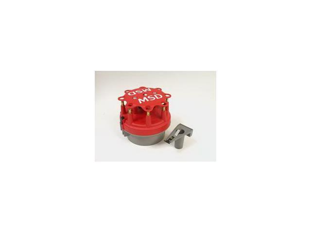 MSD Ignition Cap-A-Dapt Cap And Rotor