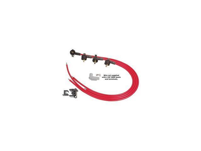 MSD Ignition 31689 Universal Spark Plug Wire Set